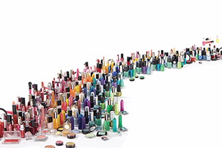 Various Cosmetics Courtesy of Personal Care Products Council